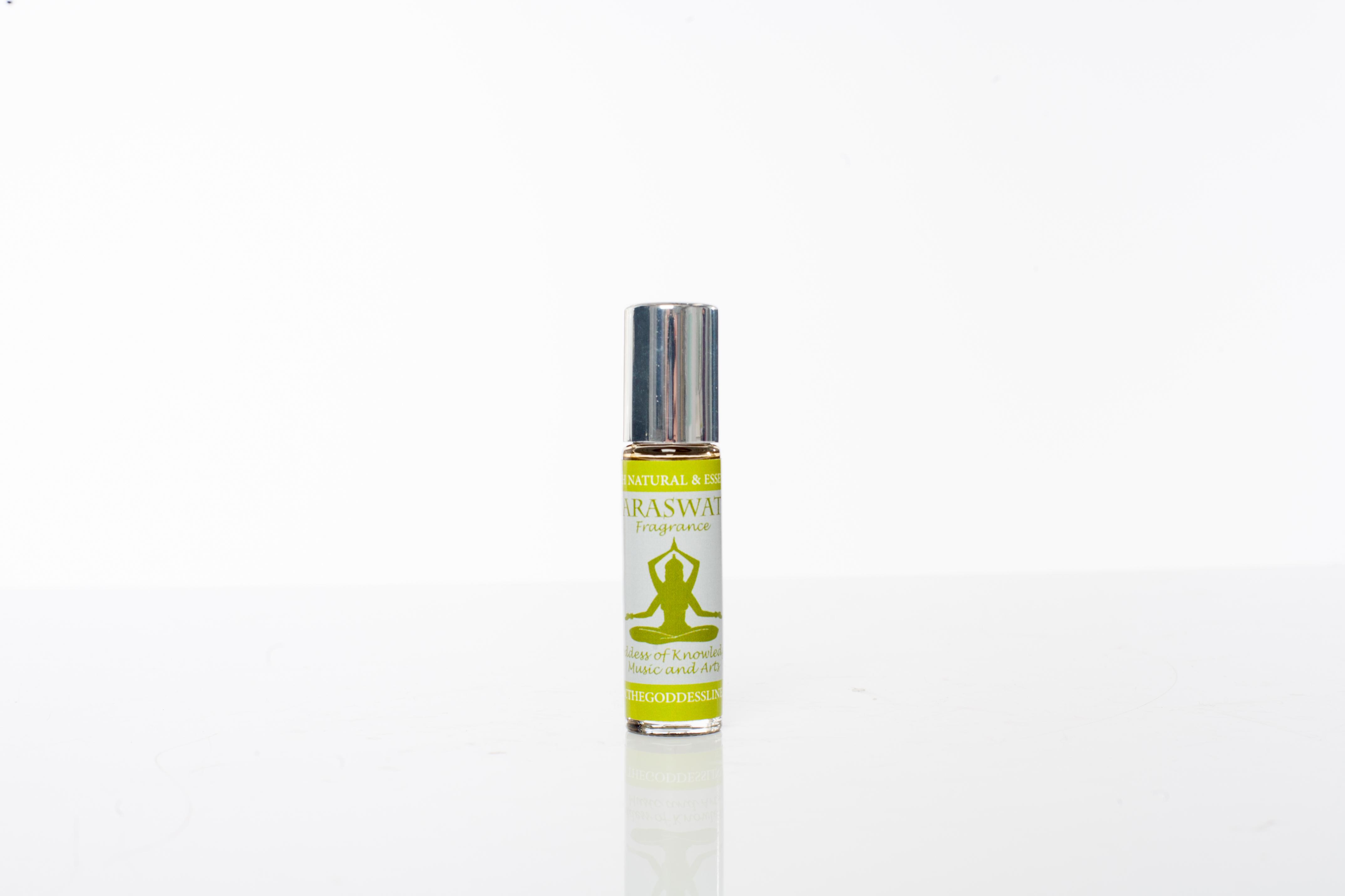 """Ekologisk parfym med fina oljor som sitter länge. Sarawati Fragrance"""" från The Goddess line"""