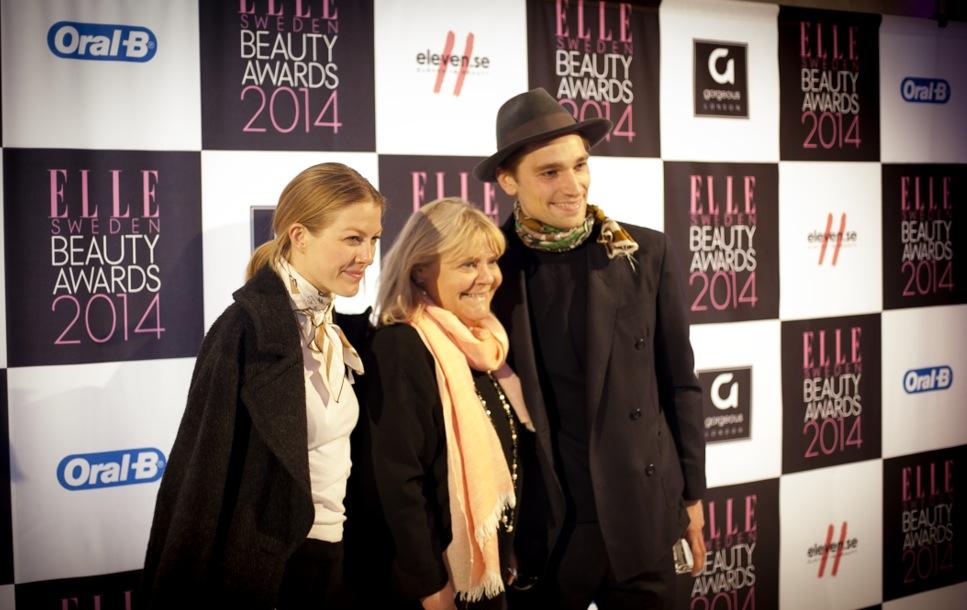 Chefredaktören för svenska Elle, Hermine Coyet kom med Sveriges snyggaste modell om ni frågar mig. Texas.