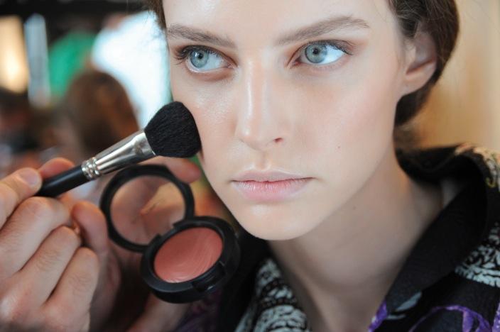 Etros visning fall 2014. Alla foton från MAC Cosmetics