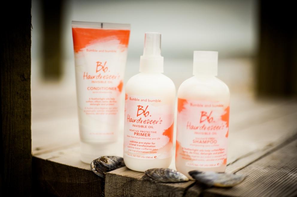 Bumble and Bumble nya hårvård innehåller 6 exotiska oljor som ska skydda hårstråna från uttorkning