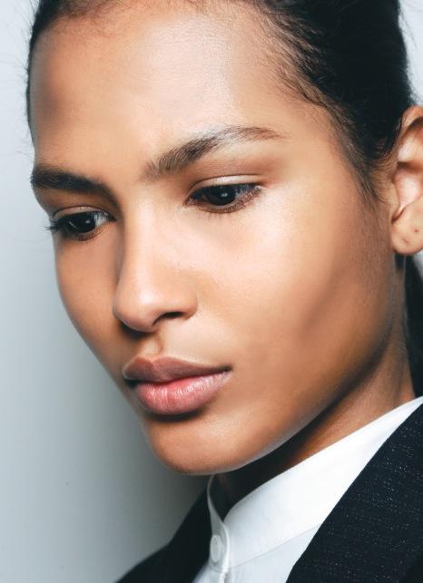 Renhet, soft och sublimt skapat av Macs makeupguru Tom Pecheux för The Row i New York