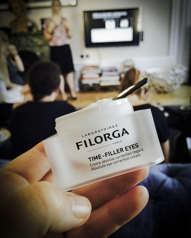 En annan nyhet från Filorga är ögonkrämen Time-fillers eyes.