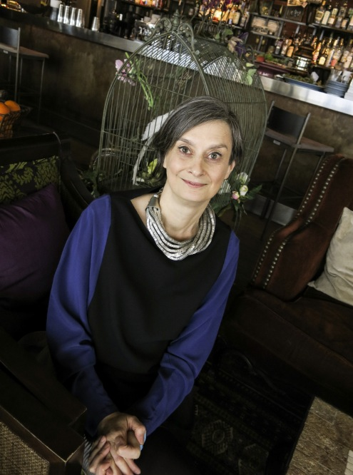 Helga Hertsig är trendkonsult blan annat åt hårföretaget Schwartzkopf