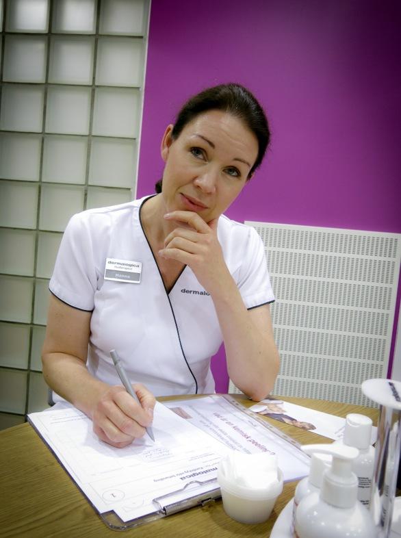 Hanna Seth är chefsutbildare på Dermalocia i Sverige