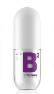 Nyhet från PH-formula är en ren B3 kräm som ökar motståndskraften i huden.