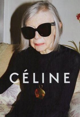 Joan Didion är klädesmärket Célines nya stilikon