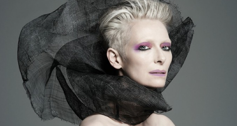 Tilda Swinton för Nars Cosmetic