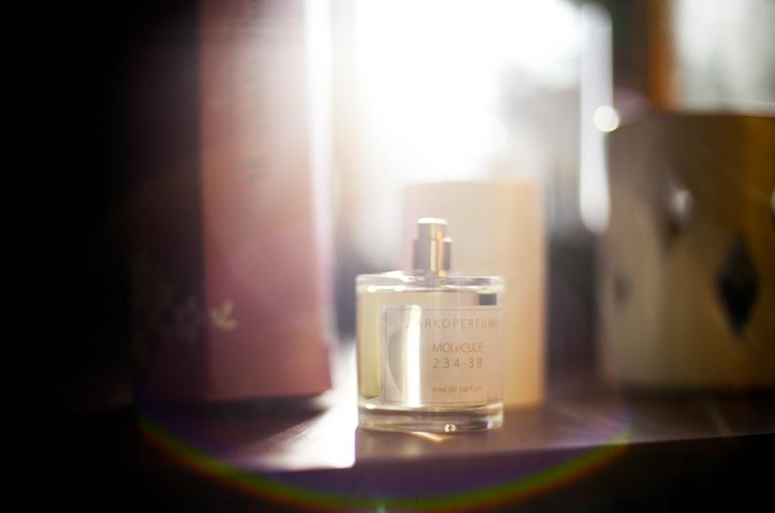 Zarko Pavlovs första parfym Molecule 234.38 började som ett tankeexperiment 2008