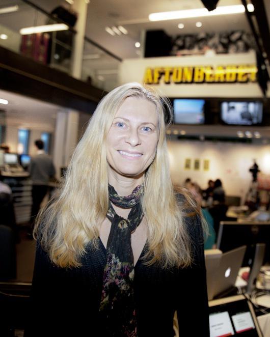 Agneta Elmegård nominerad till årets skönhetsskribent av Apoteket AB.    Foto: Aftonbladet