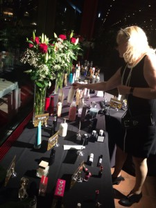 Alla de nominerade produkterna stod uppställda i lokalen.