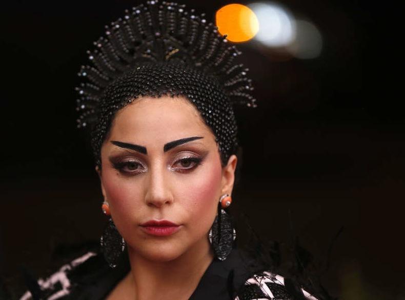 Lady Gaga var en av de få som hade orientalisk makeup på röda mattan. Foto: Reuters. Metropolitan Museum of Art