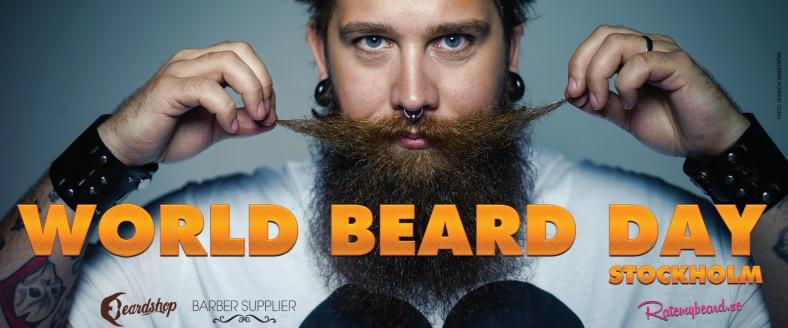 Skägg, skägg, överallt skägg. Beard there!