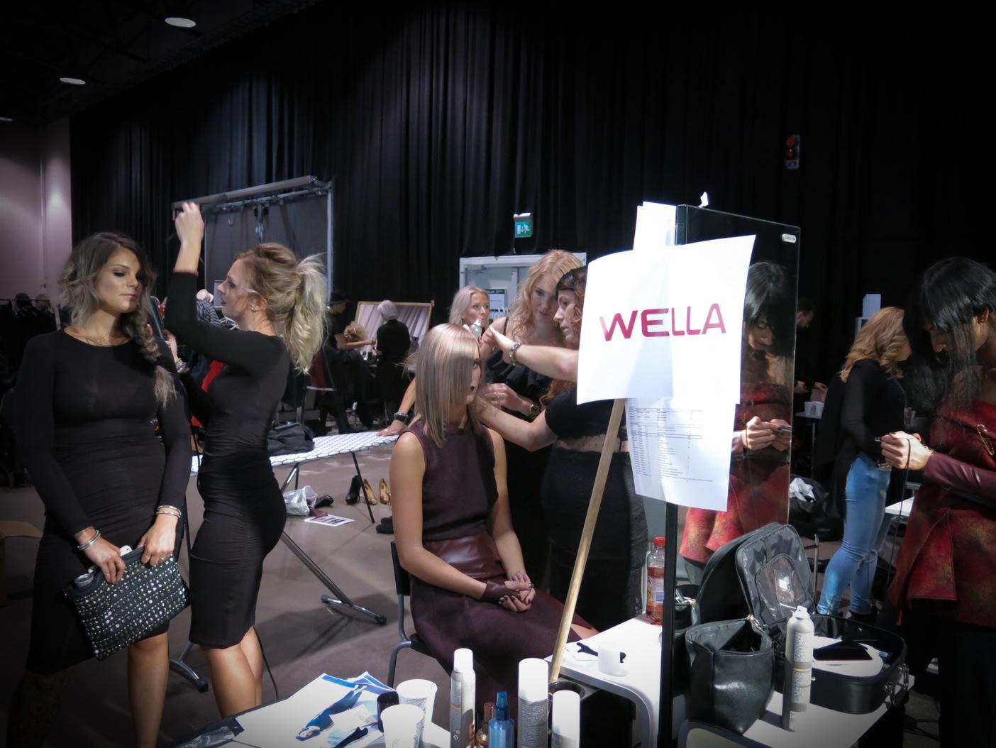 Hårgänget i Stockholm förbereder sin Pixelmaniavisning på Wellas Fest 2015