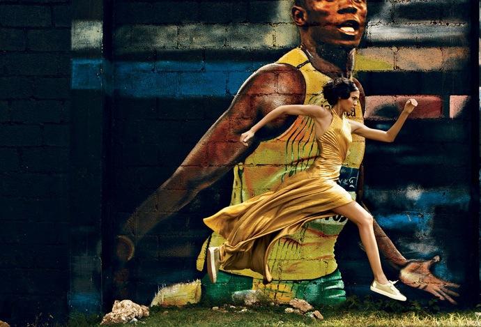 Fotot tagit av Patrick Demarchelier, för Vogue,  2012