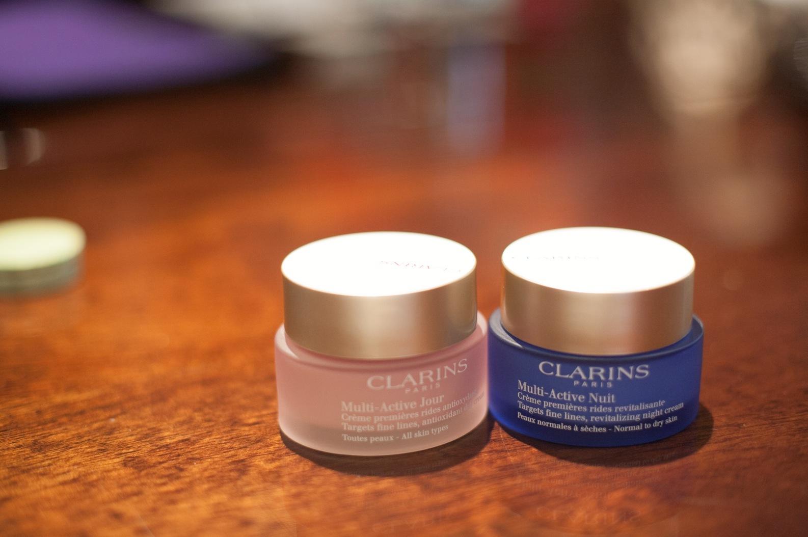 Ny dag- och nattkräm från Clarins