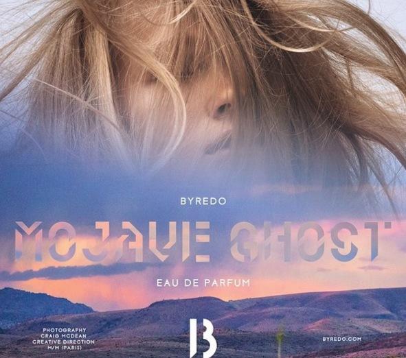 Svenska Byredo har fattat det här med skymningsfärger. Förra året kom Mojave Ghost. Varmt, kallt. Ljus, mörker.  Bild från Byredo