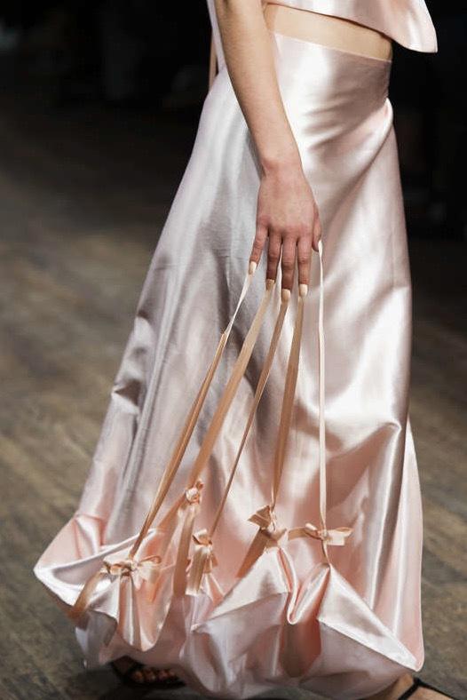 Matilda Forsberg hade satsat på deltaljerna i sin klädkollektion Future Fashion på Berns