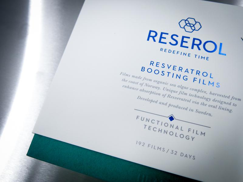 Reserol släpper vilken dag som helst produkt som smakar mint.