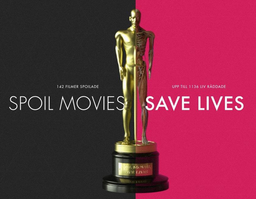 Spoila en film och rädda liv!