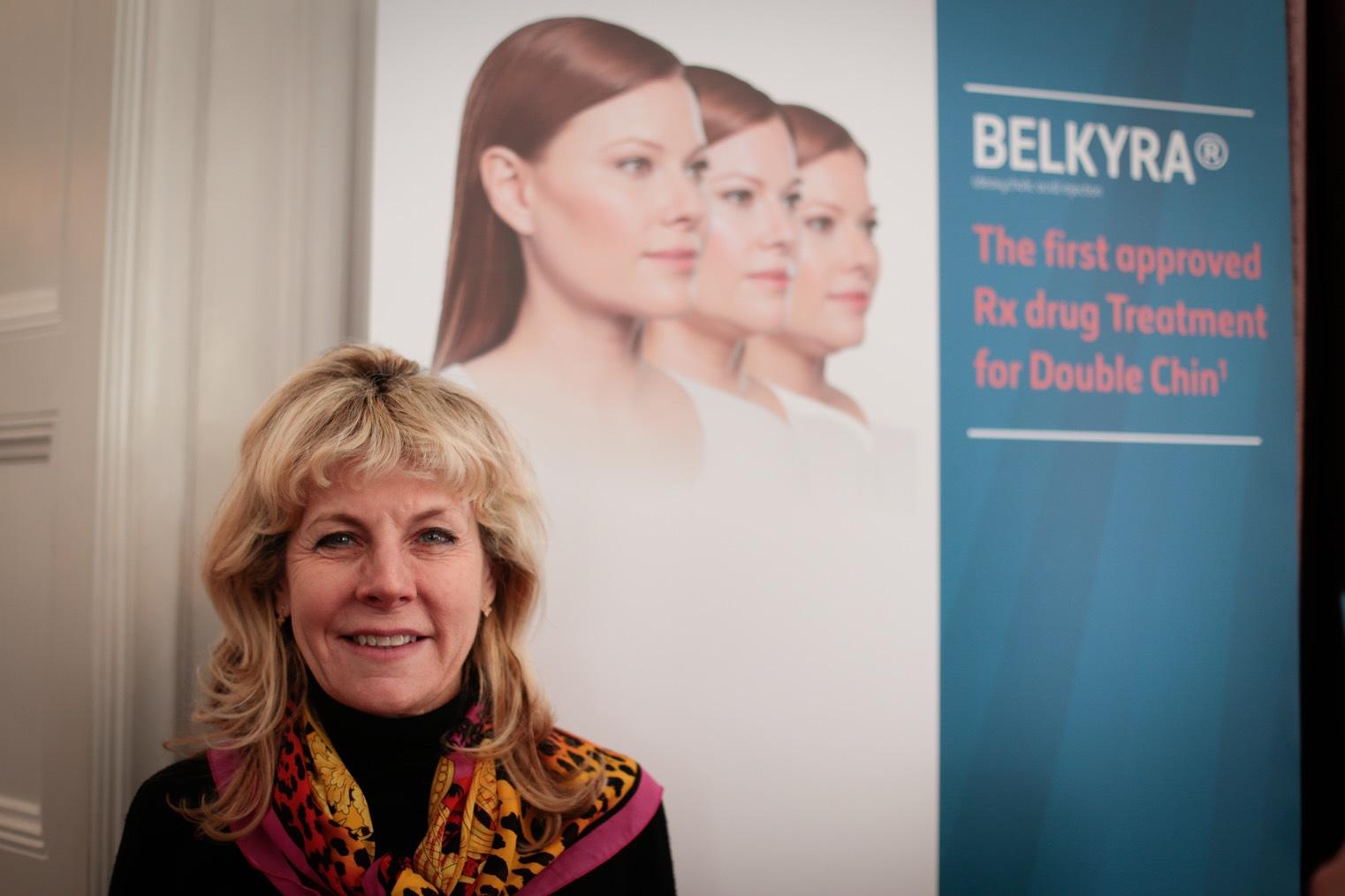 Dr Pyra Haglund från Stureplanskliniken är först i Sverige att ta in Belkyra