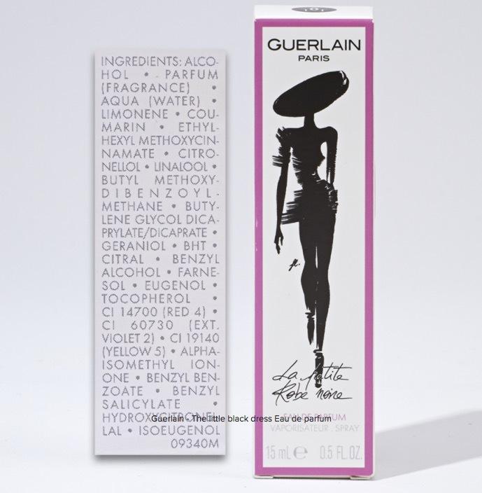 Hoppsan! Den fina parfymen Från Guerlain innehåller solskyddsmedlet octyl methoxycinnamate