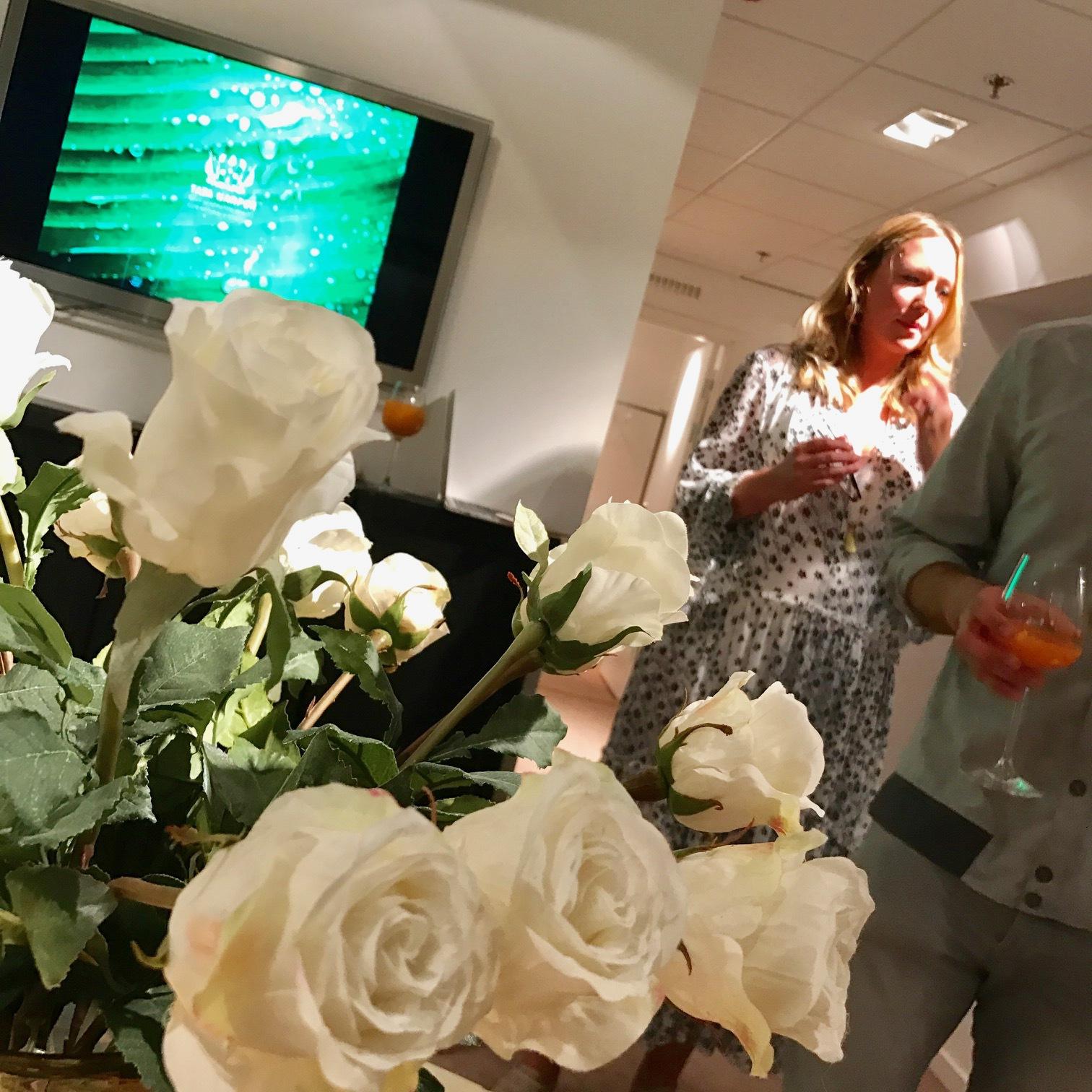 Jessica Parker var i Stockholm och NK för att presentera Tata Harper