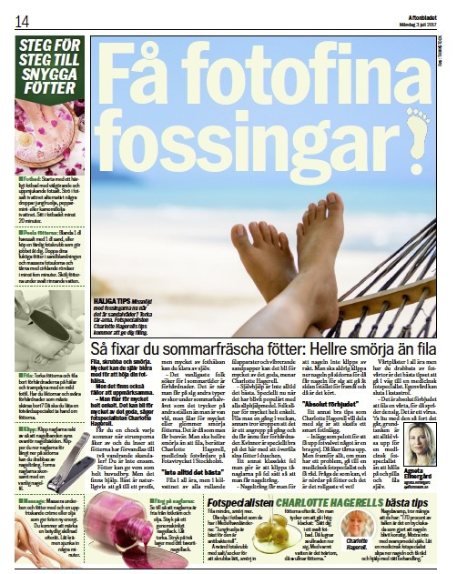 Artikeln har varit inför i Aftonbladet