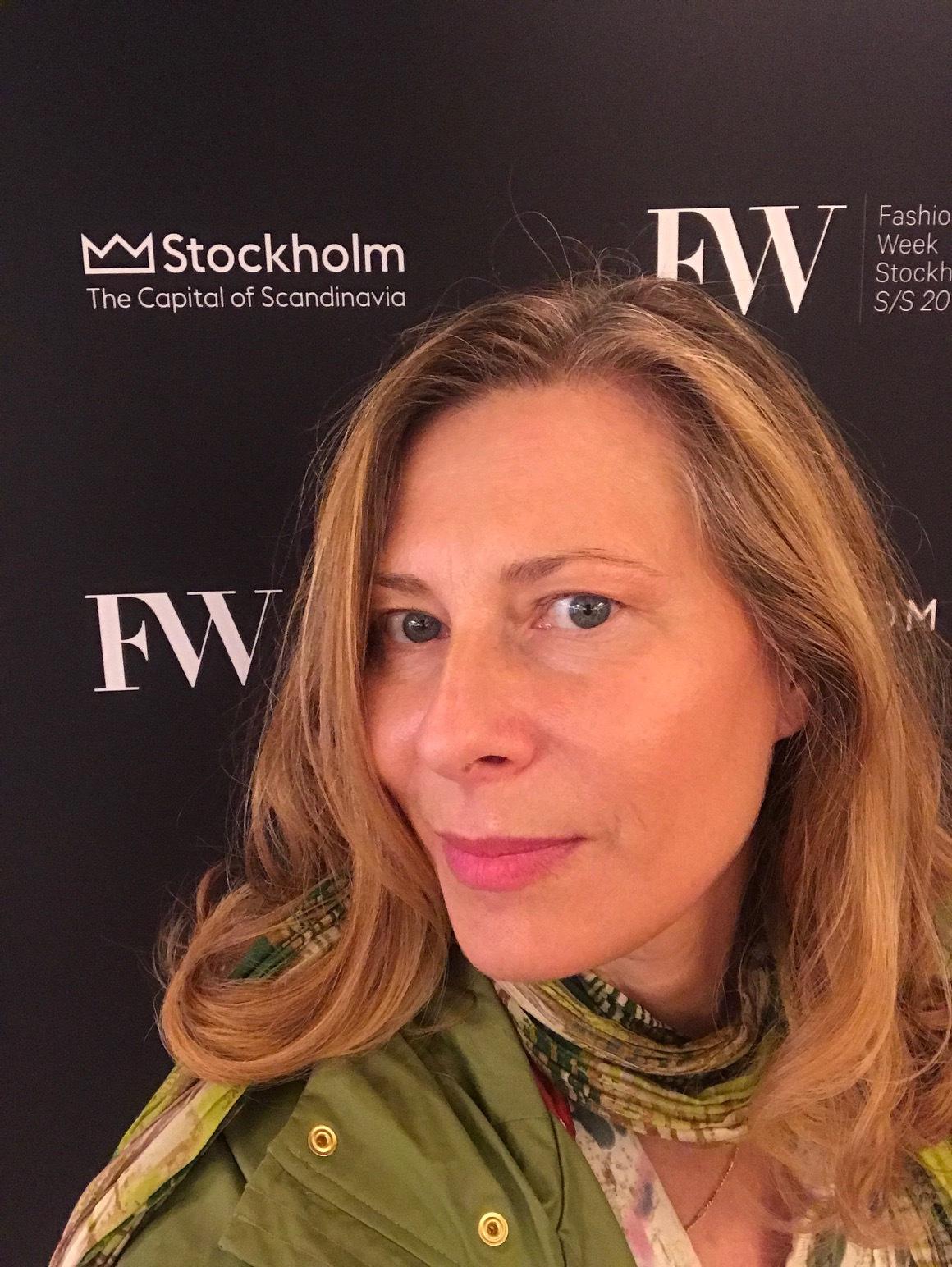 Fashion Week Stockholm, Plats: Grand Hotel. Uppdrag: Testa en Dyson