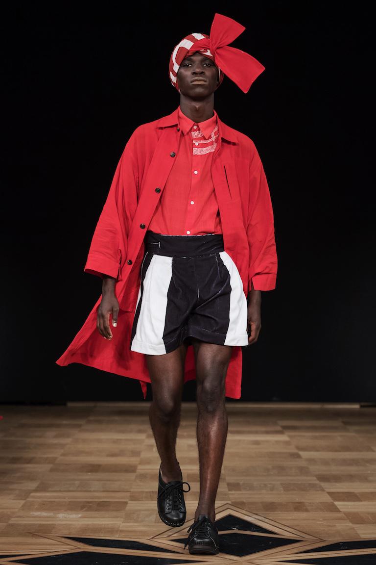 Fashion Talents hade också snappat att rött... is da shit
