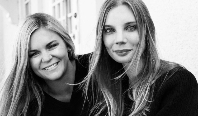 Två medvetna tjejer! Linn Frisinger och Nadja Forsberg