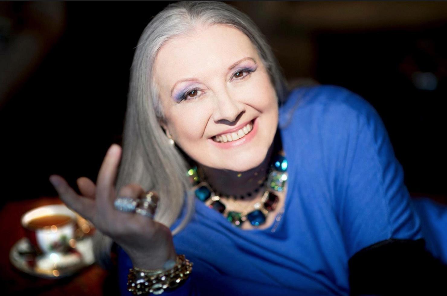 Romarinnan Laura Biagotti blev 73 år