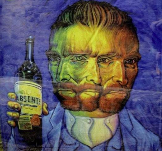 Den gröna fen, kallades absintdrycken som under 1800 -talets slut blev en kultdryck i mellaneuropa och Skandinavien. Vincent van Gogh sågs ofta inmundiga absint.