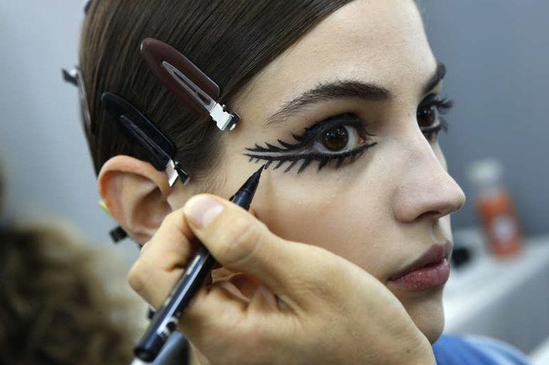 Dior lade krutet på eyelinern. Bild från TT