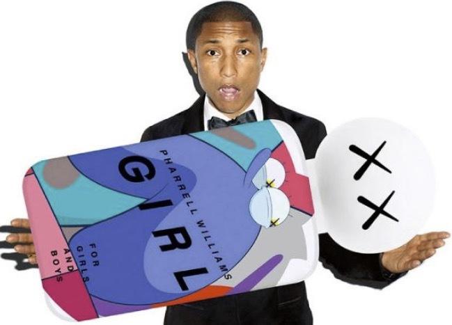 Pharrells parfymsamarbete med Comme des Garcon, Girl.