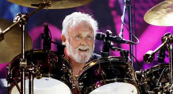 Farsan Roger Taylor kan verkligen lira trummor