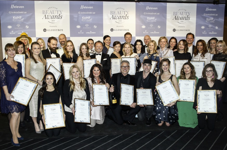 Alla vinnarna i Swedish Beauty Awards 2018
