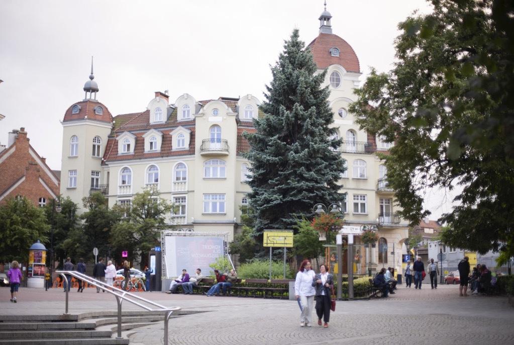 Rezynece hotell är en fantastiskt hotell mitt i Sopot med sekelskiftvibbar