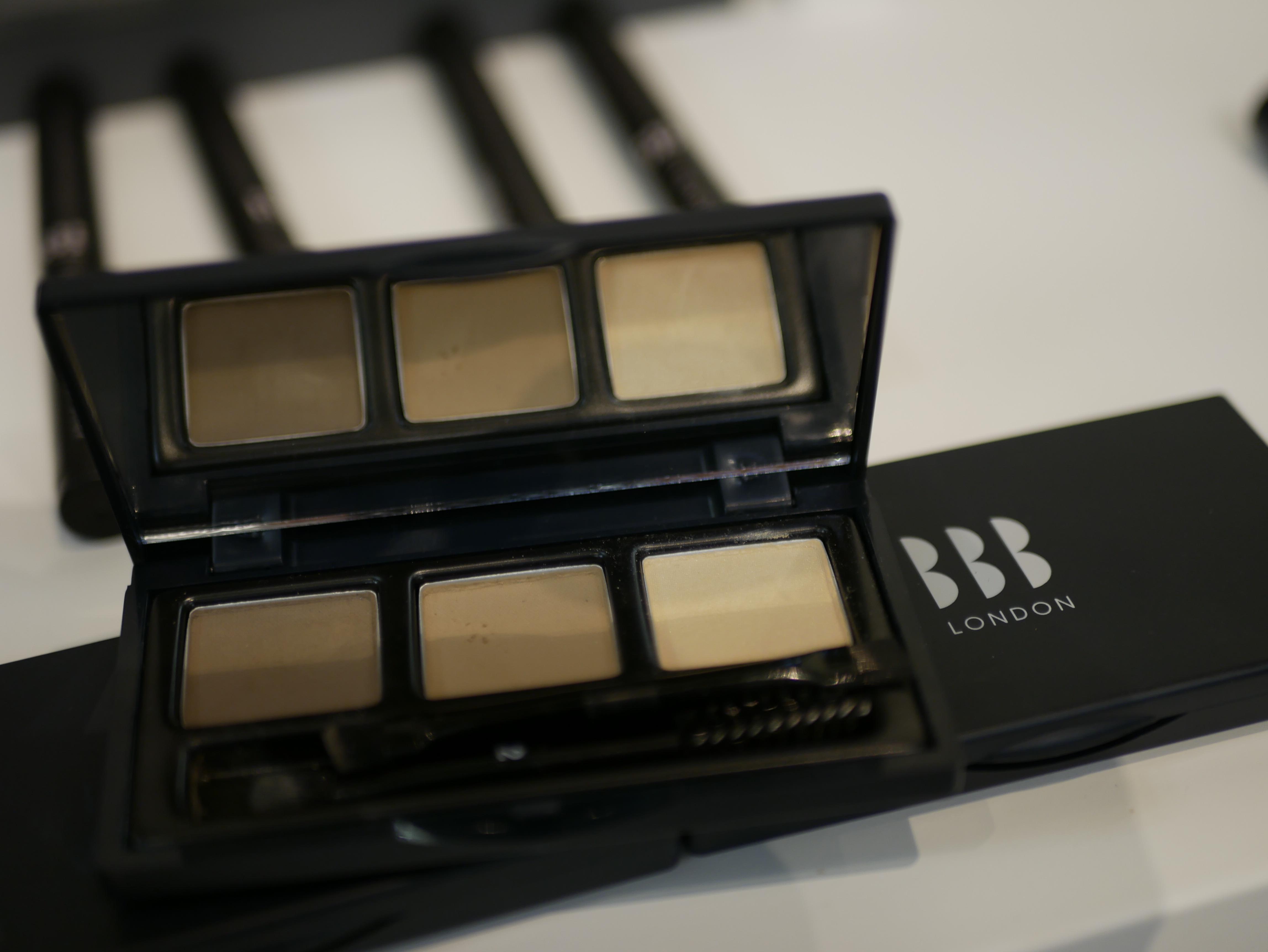 BBB London var ett nytt märke från london som gör ögonbrynsprodukter i bra färger och med smarta hjälpmedel som underlättar appliceringen
