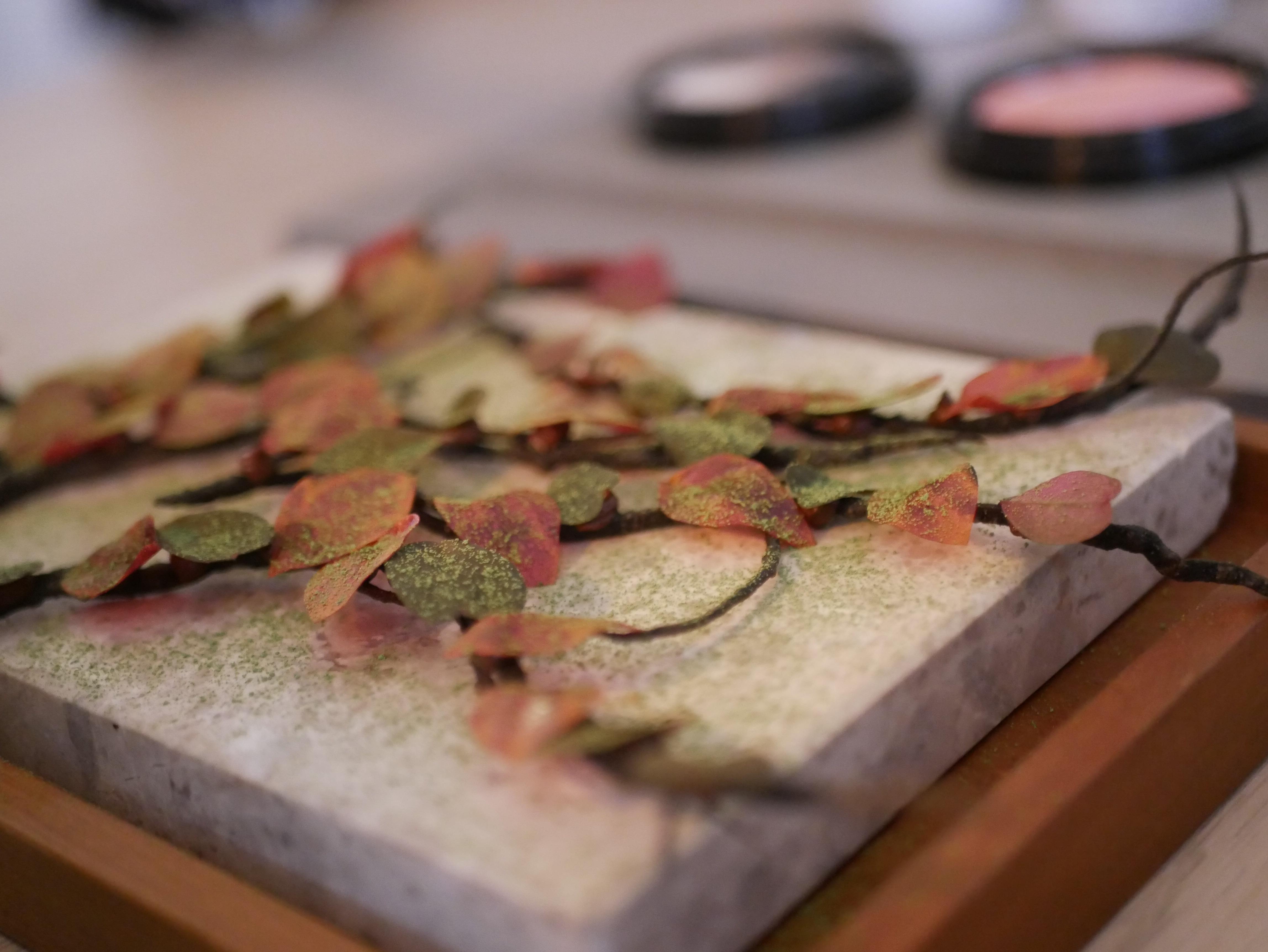 Stjärnkocken Sayan Isaksson hade gjort maten som såg ut som konstverk