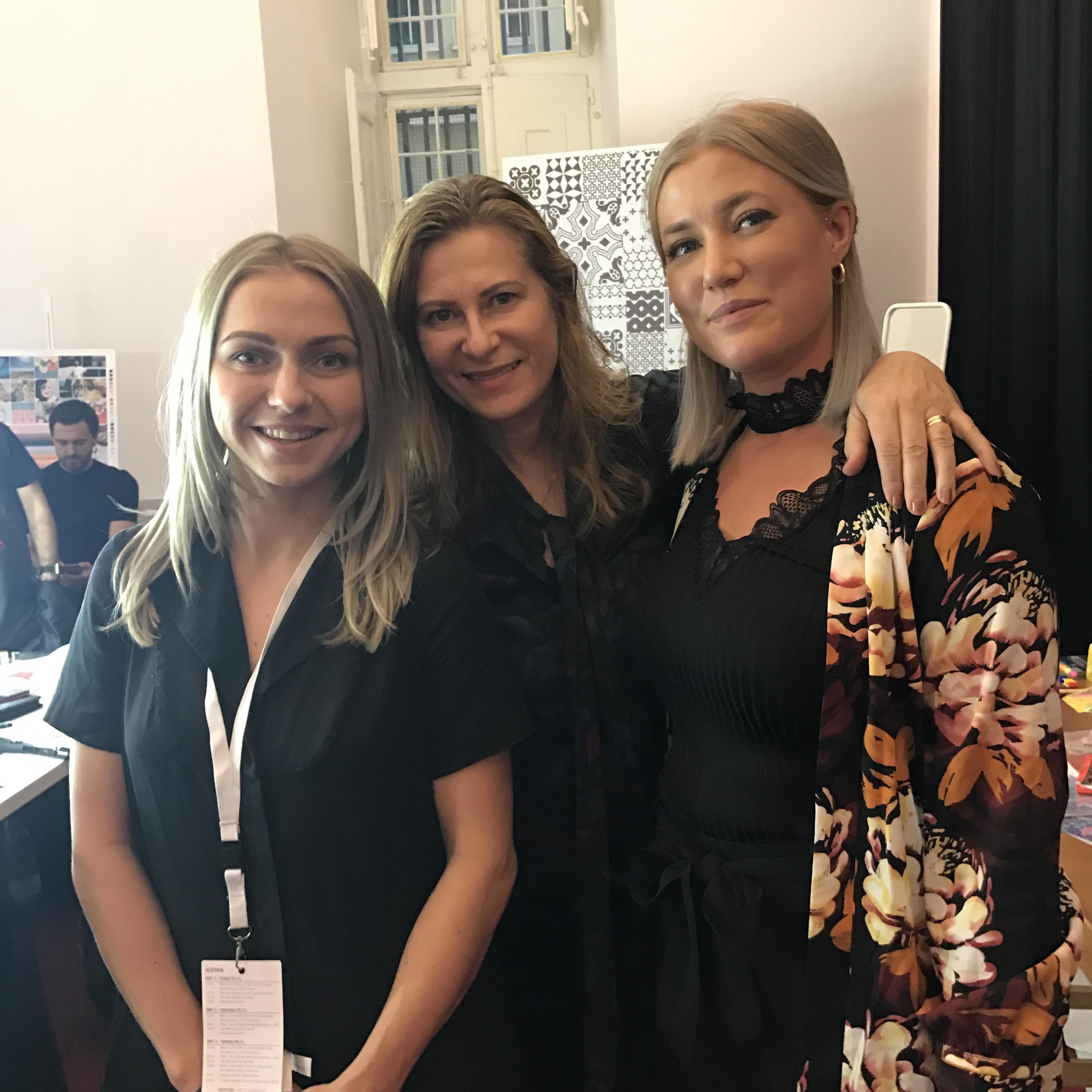 En svenska till deltar i International Trend Vision Award i Lissabon Sanya Keränen från Nikita Hair i Oslo
