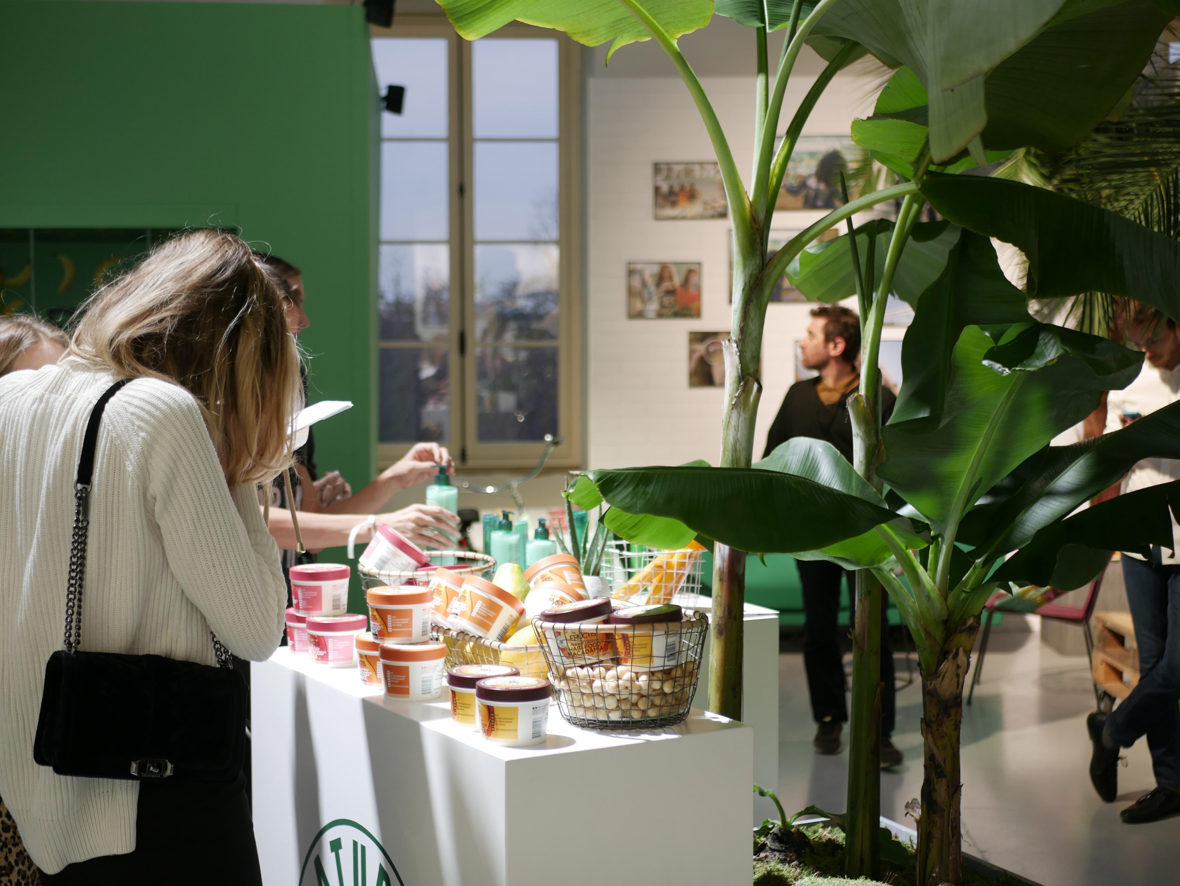 Presseventet för Garnier Bio var i det anrika grand Palais i centrala Paris