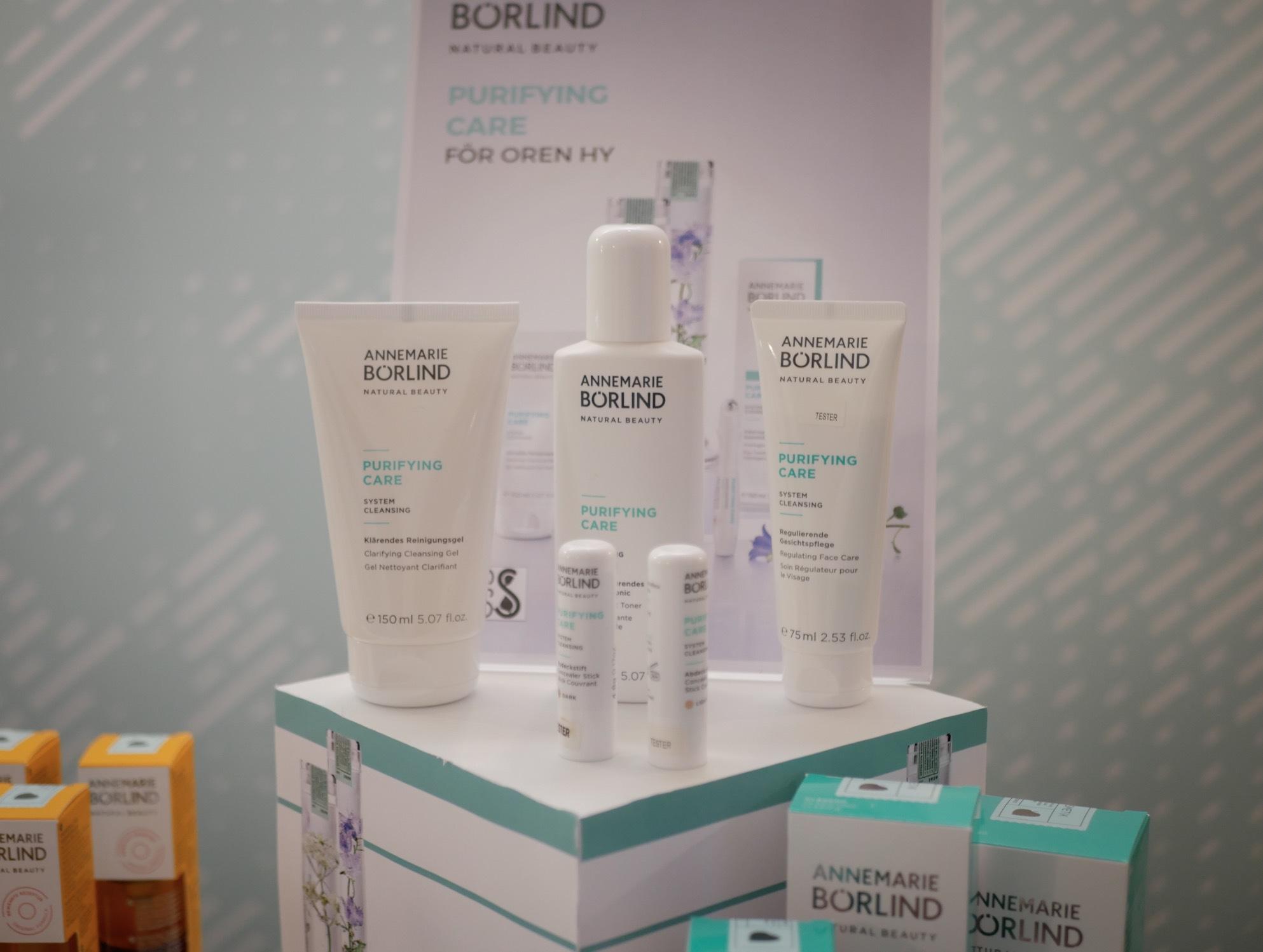 AnneMarie Börlind satsar på en ny serie för yngre hud som lätt får blemmor eller acne.
