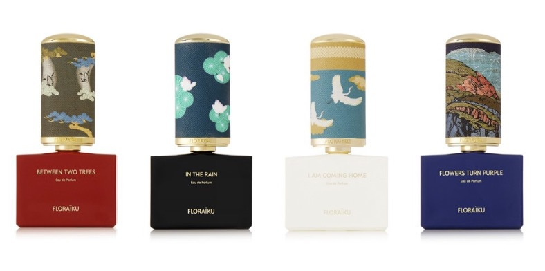 Floraikus dofter har hämtat inspirationen ur te-traditioner och haiku-skrifter