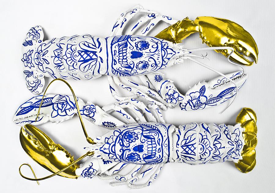 lobster porcelain