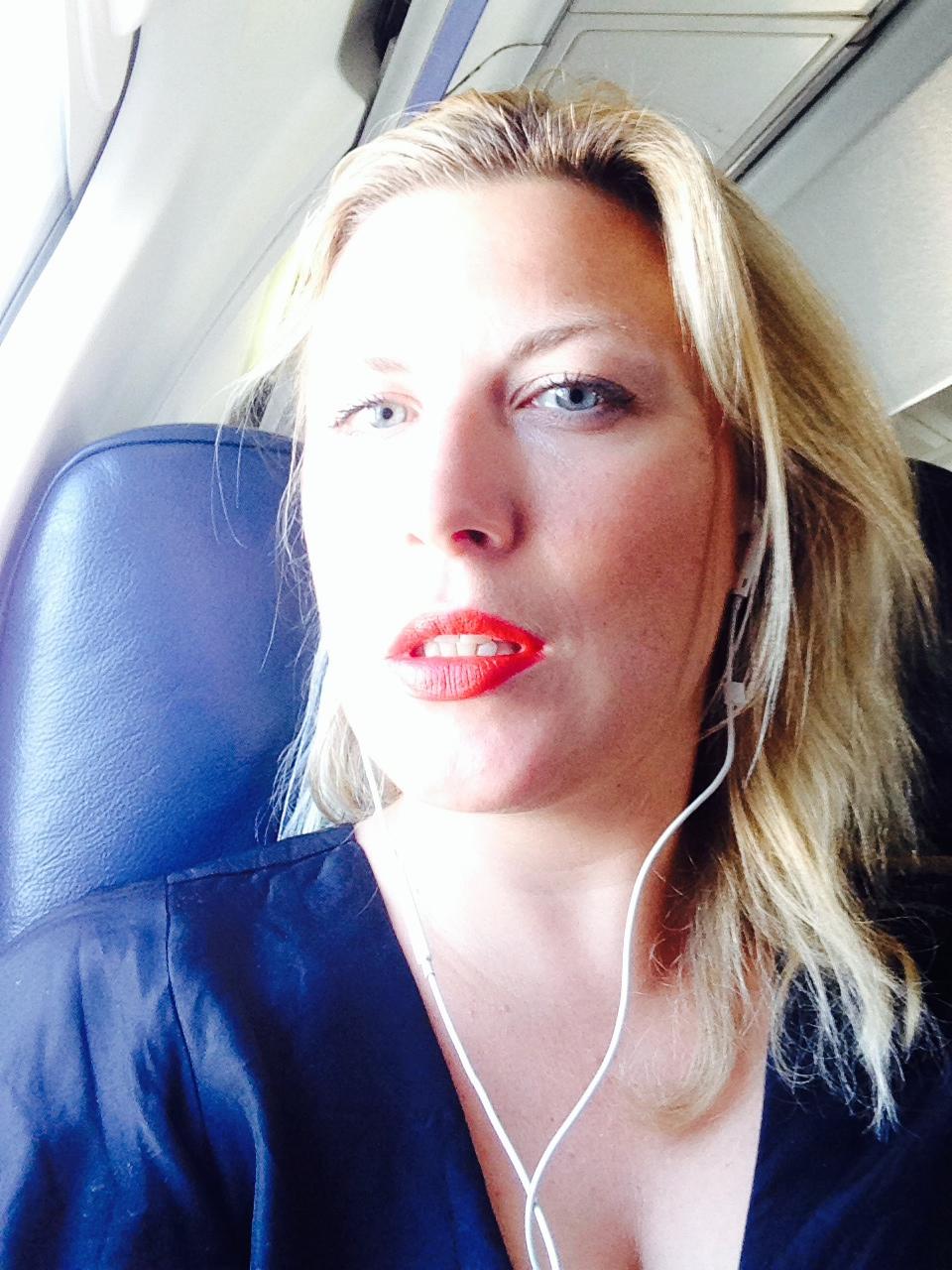 Missnöjd flygresenär efter trist Arlanda-häng.