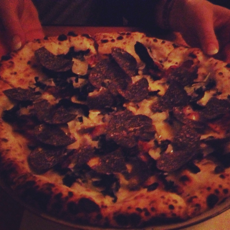 Tryffelpizza.