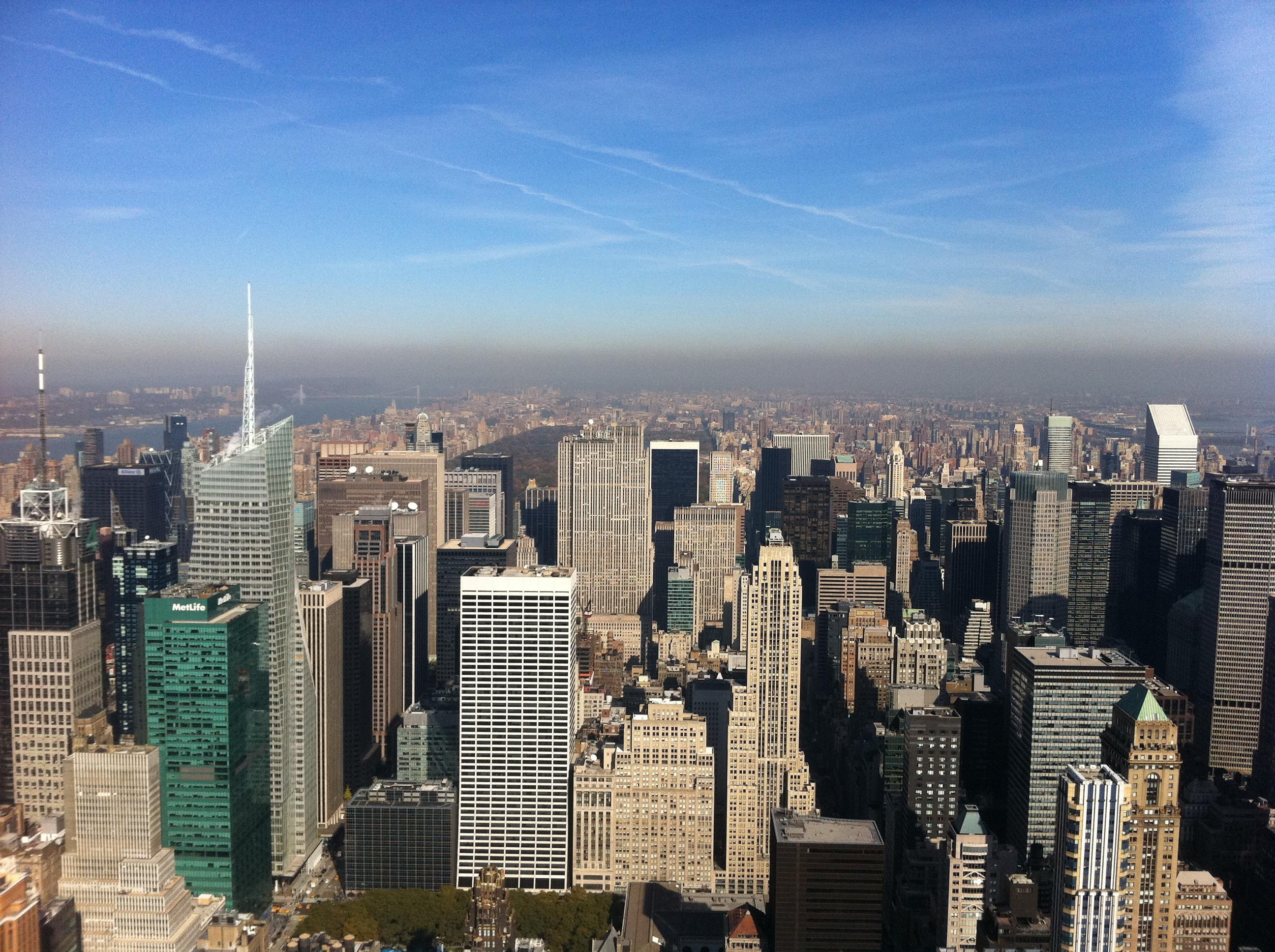 New York, baby.
