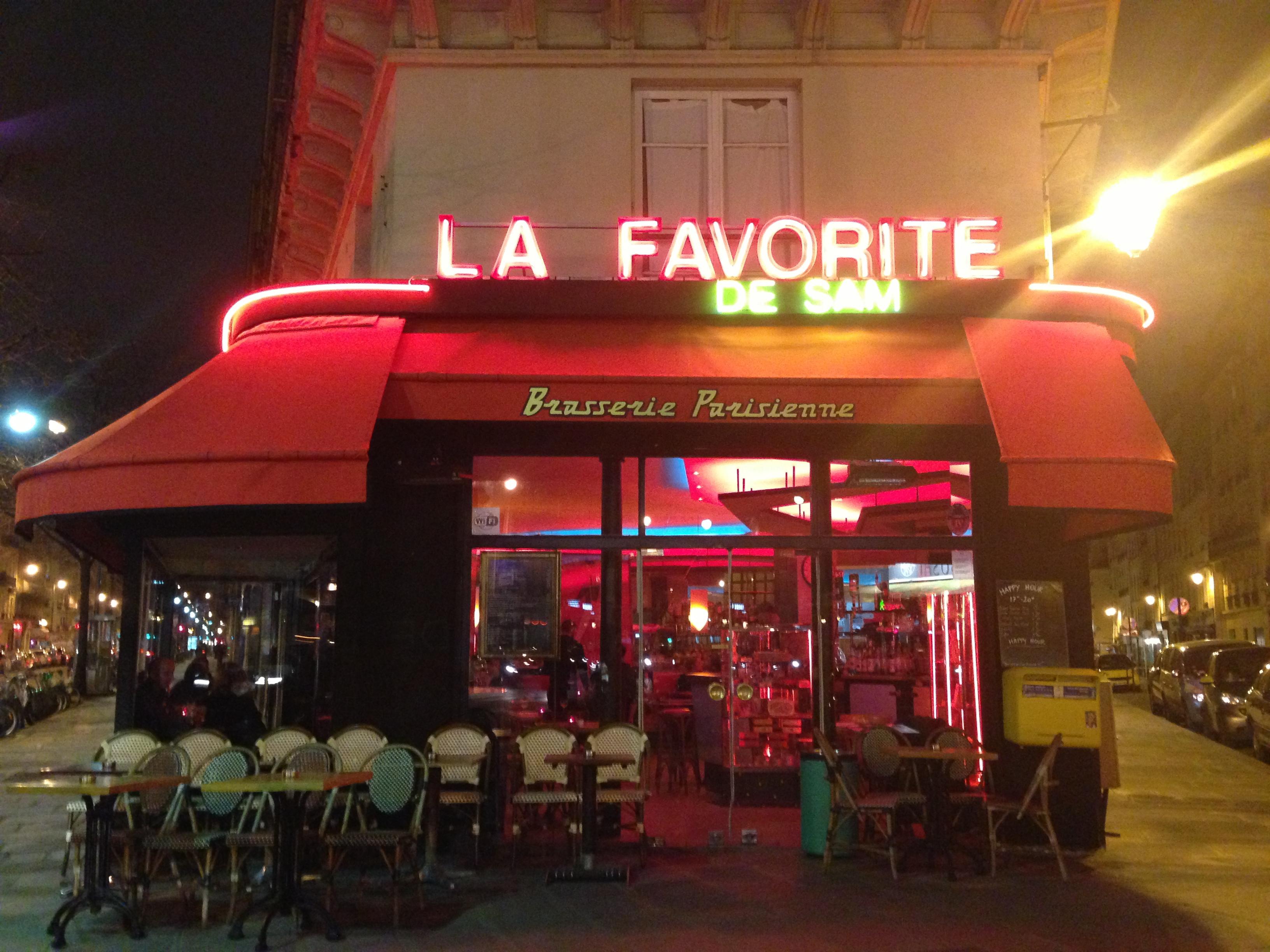 Parisisk service är inte alltid en favorit.