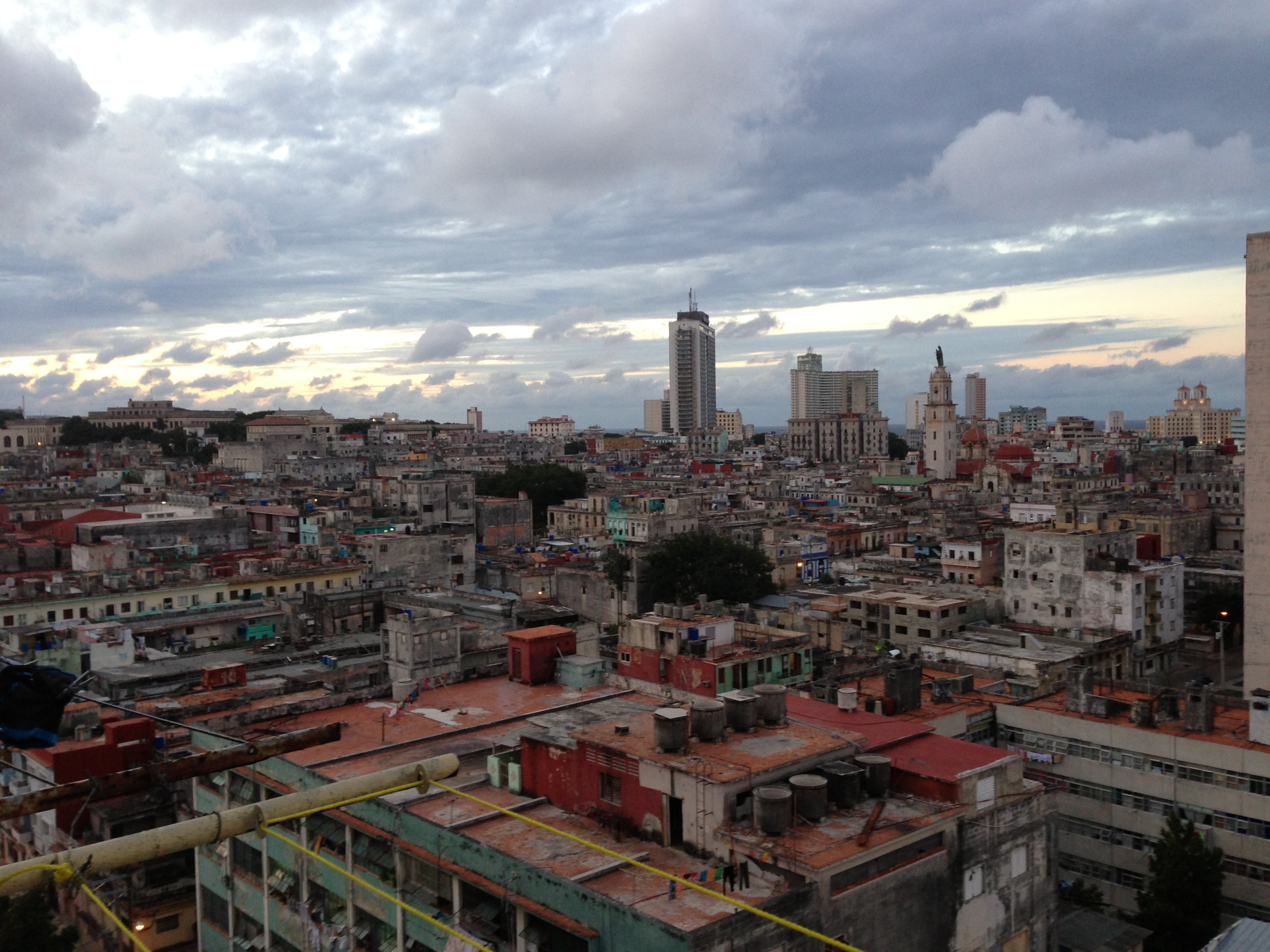 Havanna skyline.
