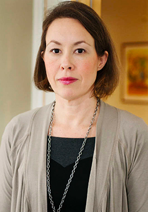 Attendos presschef Charlotte Näsström Morén
